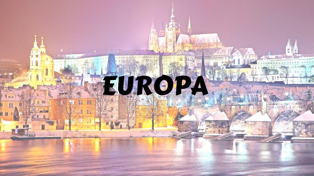 itinerari Europa