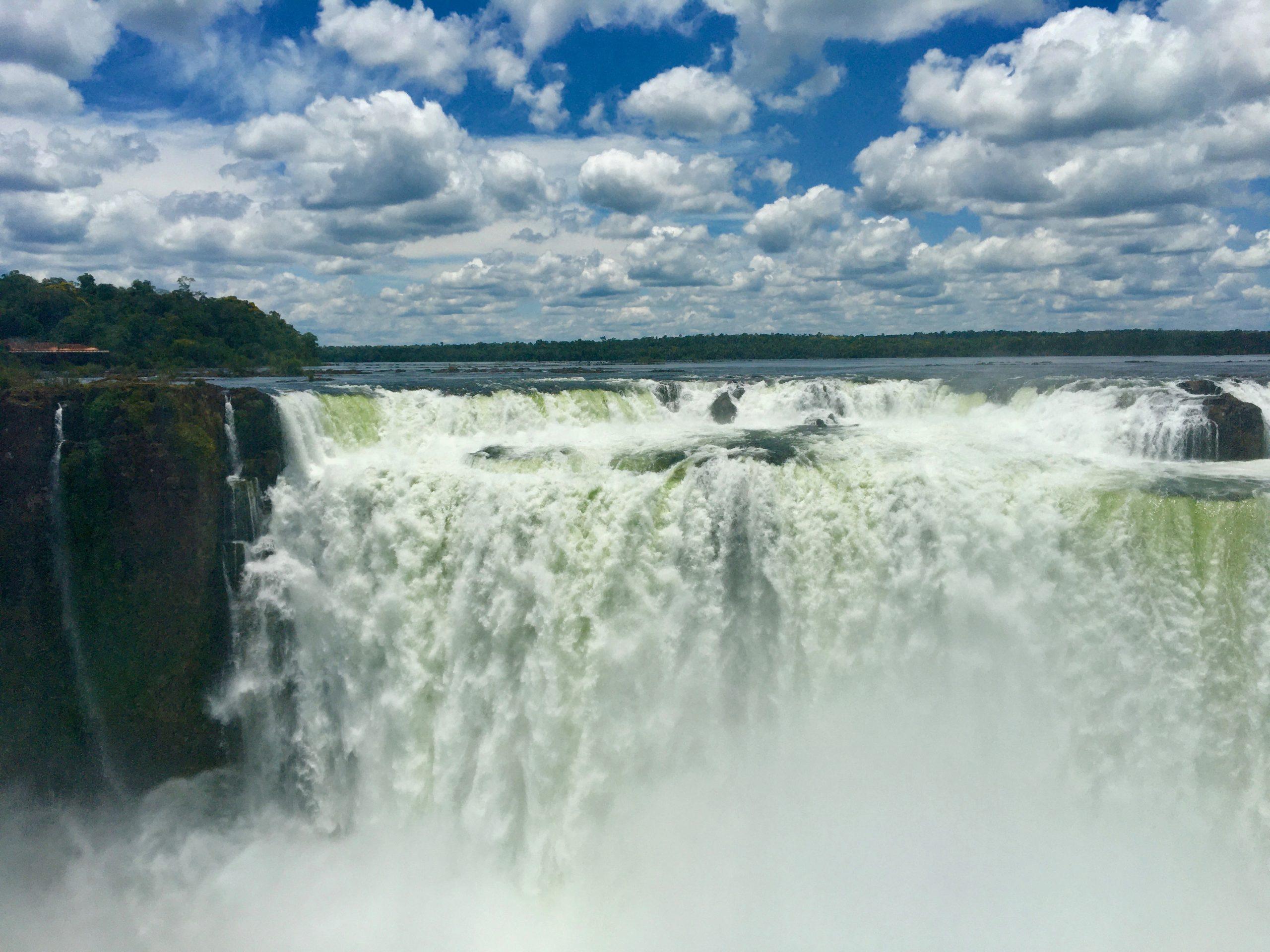 Cascate de Iguazu garganta del diablo